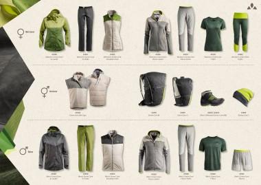 Vaude Green Shape Core Collection