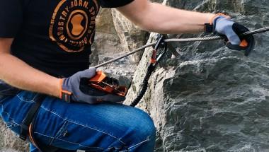 Klettersteigset Mit Seilklemme : Saac skylotec: das sicherste klettersteigset am markt: rider 3.0