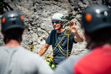 Kletterausrüstung Naturns : Saac mit sicherer klettern